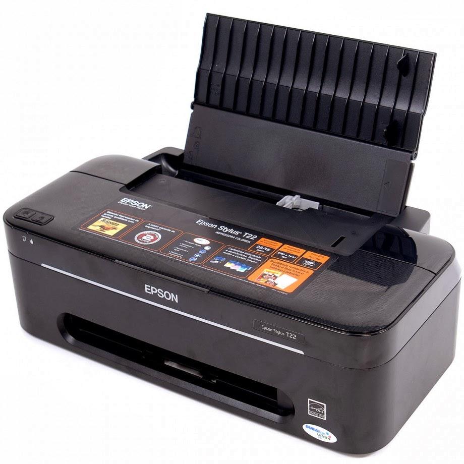 impresora epson t22 y su restablecimiento