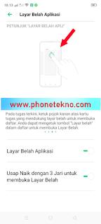 Cara membuka 2 aplikasi secara bersamaan di Realme 5