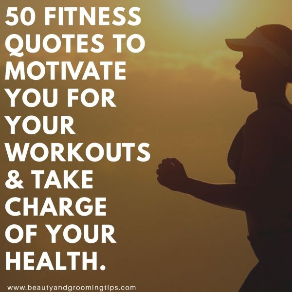 quotes on fitness for exercise motivation - pic of woman cross training