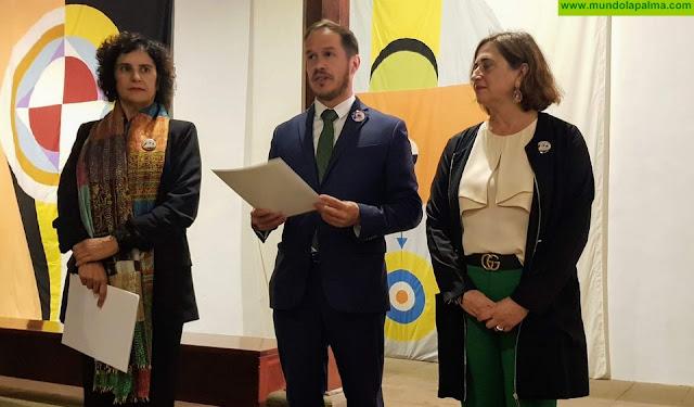Las Banderas del Cosmos de César Manrique vuelven a ondear en La Palma