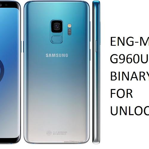 Download Samsung S9+ SM-G965U ENG Modem G965USQU5ASE1