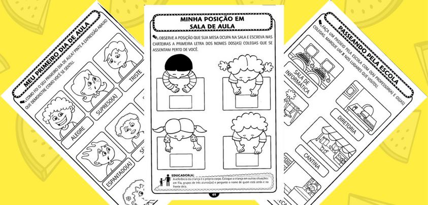 Texto Para O Primeiro Dia De Aula: Atividades Para Os Primeiros Dias De Aulas