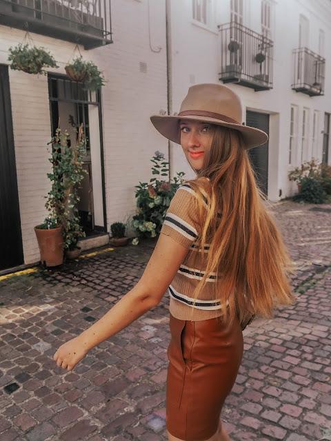 Fashion Blogger Autumn Fedora Styling