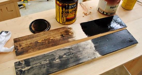 Teknik pengecatan atau finishing furniture dari kayu palet bekas kontainer  1000 Inspirasi