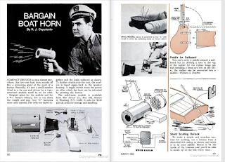 The original Bargain Boat Horn