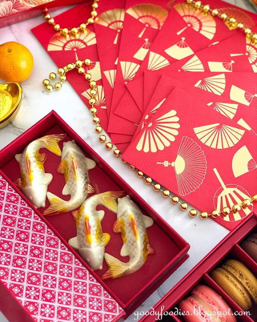Mandarin Koi Fish Chocolates, Mandarin Oriental KL