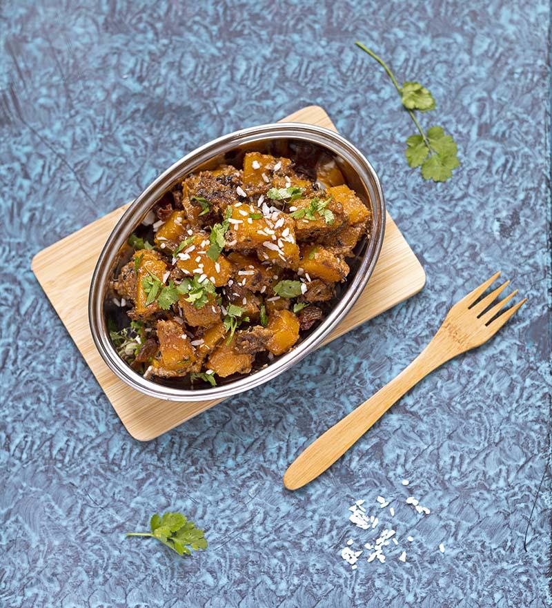 curry z dyni przepis