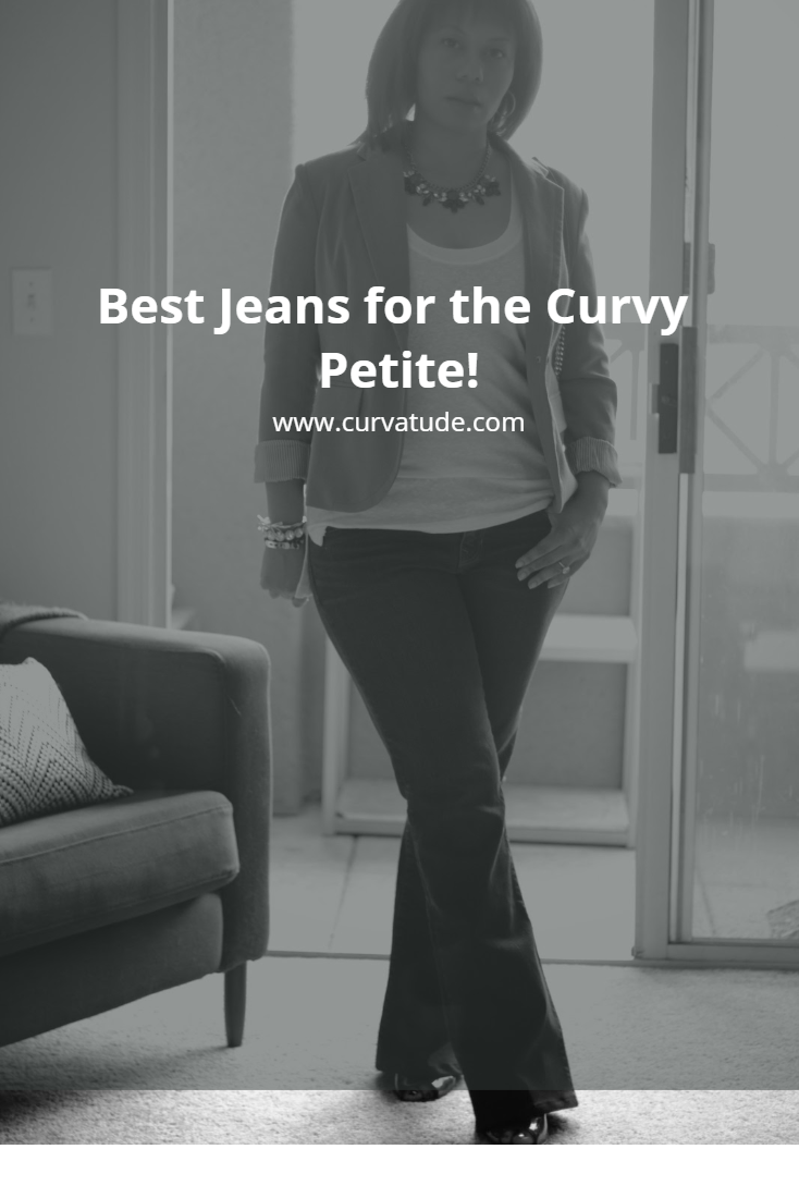 Shopping The Best Jeans For The Curvy Petite Curvatude