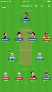 Today Dream11 sure Team Prediction