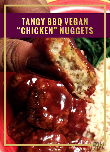 vegan bbq chicken nuggets