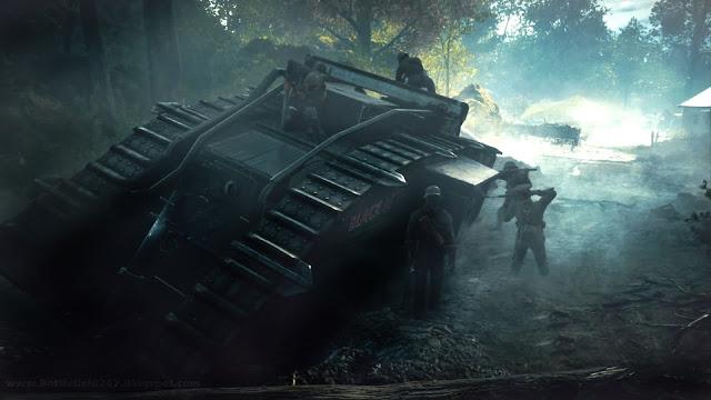 Battlefield 1 In Game Tank Footage