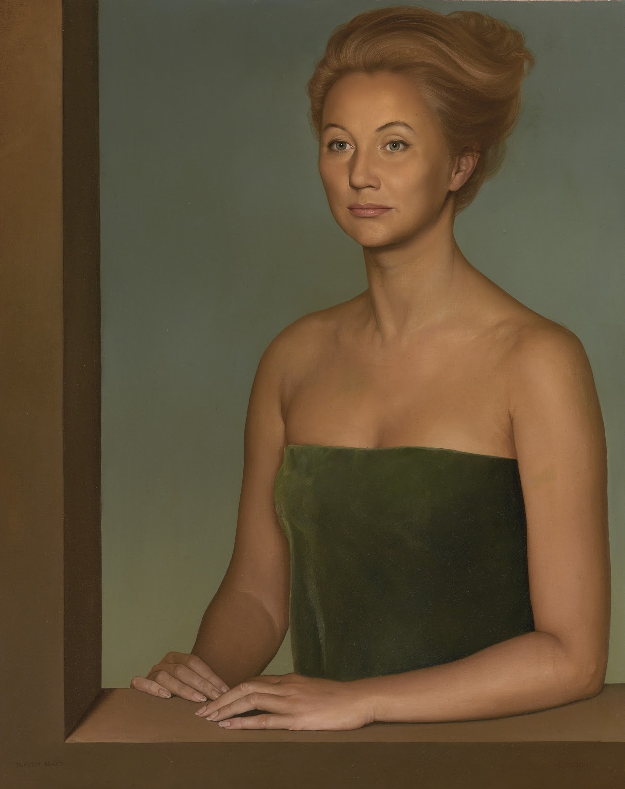 Claudio  ravo Camus Portrait of a Lady