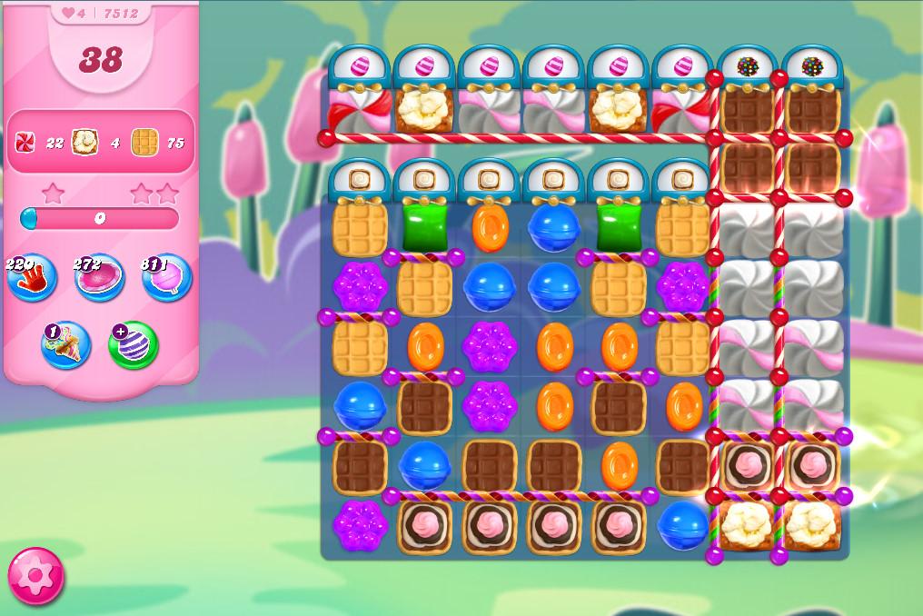 Candy Crush Saga level 7512