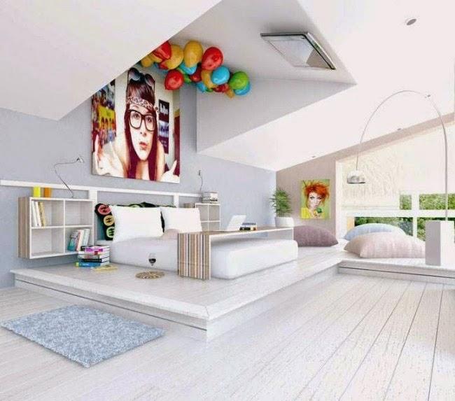 dormitorio chica moderna