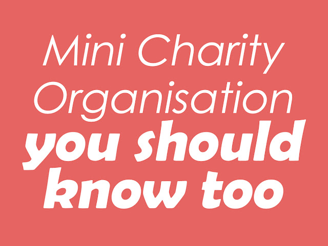 Mini Charity Organisation you should know too