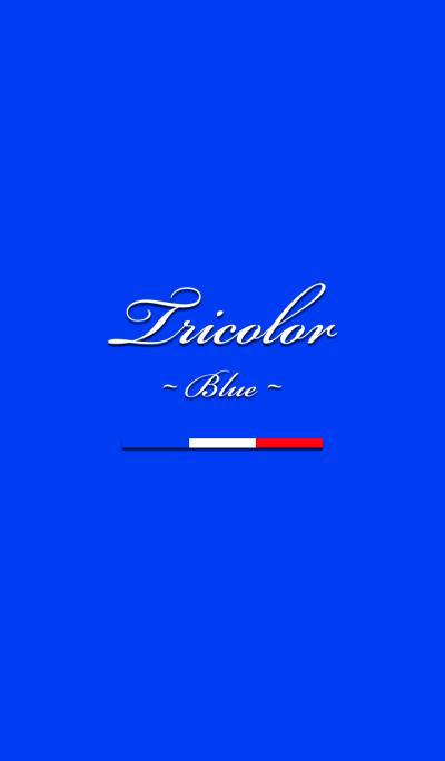 Tricolor -Blue-