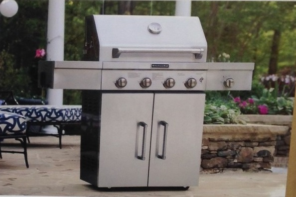 KitchenAid Propane Gas BBQ Grill (Model 720-0733D) | Costco Weekender