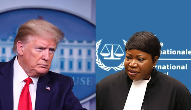 Stati Uniti CONTRO Corte Penale Internazionale dell'Aja: definita un organo politico corrotto.