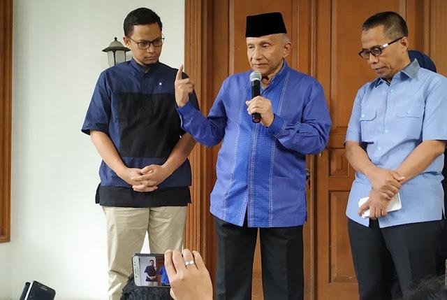 Amien Sebut Ada Tiga Poin Isi Surat Prabowo