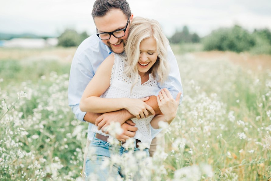 Four Elements Farm-Flower Farm Engagement Session-Bonney Lake Wedding Photographers-Something Minted Photography