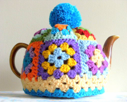 granny square tea cosy crochet pattern