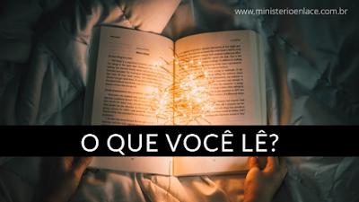 o que você lê_