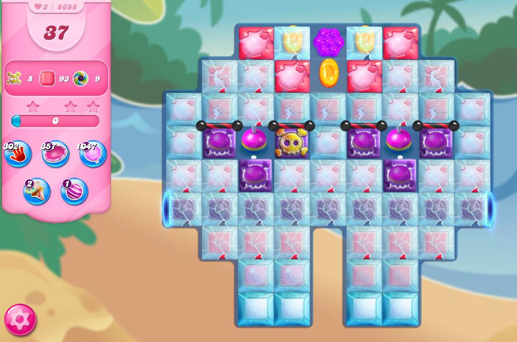 Candy Crush Saga level 8688