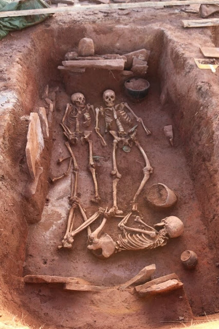 2,500-year-old grave of warrior couple discovered in Siberia