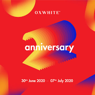 Oxwhite Turns 2! Cash Vouchers over RM 60,000 & Discounts up to 50% Giveaway!