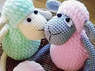 amigurumi, orgu, kuzu, oyuncak