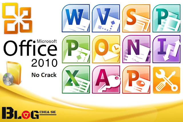 Download Microsoft Office 2010 không cần crack