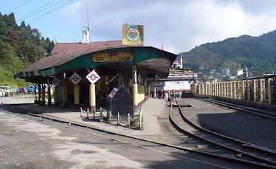 GHUM Railway Station Highest Railway Station In India