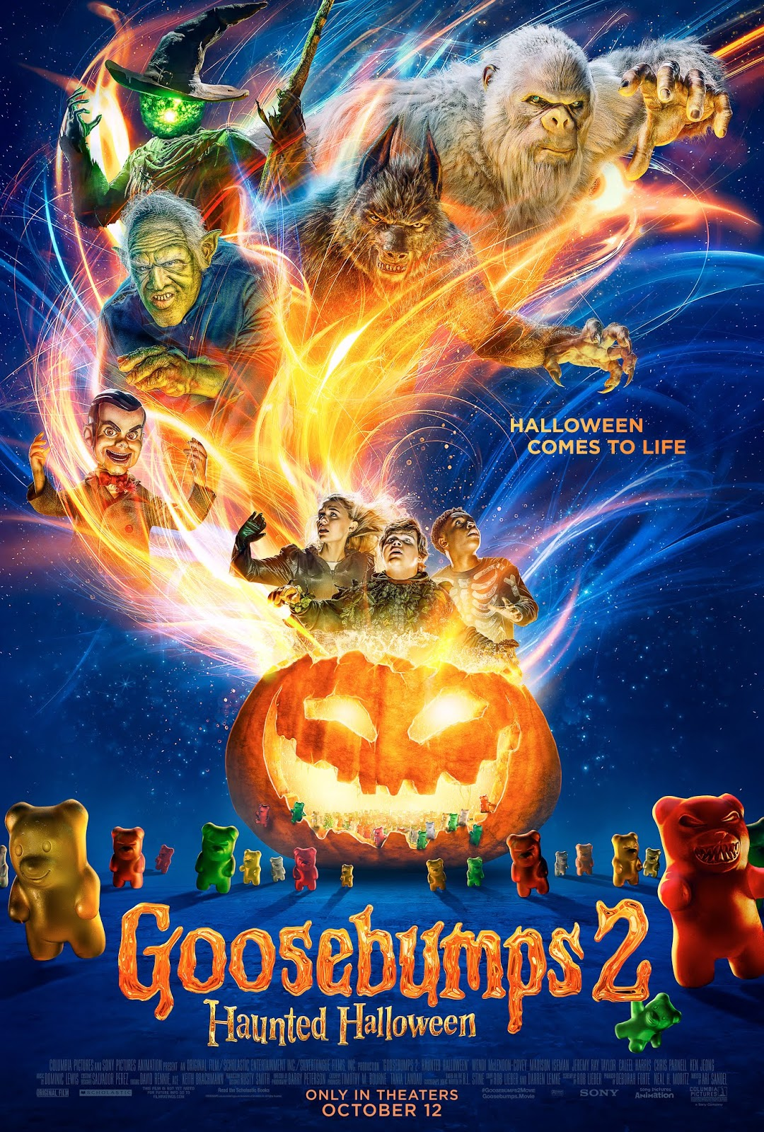 detroit giveaway: 30 admit-two passes for goosebumps 2: haunted