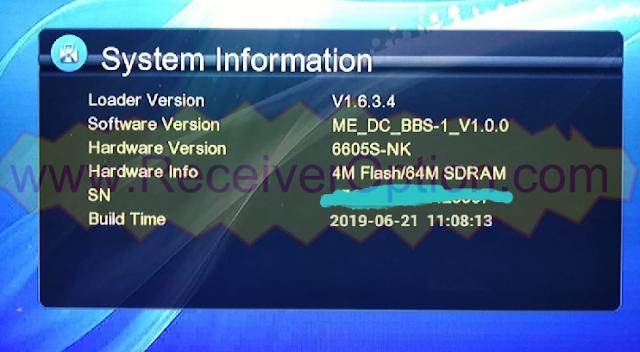 DC BBS-1 HD RECEIVER VLINE TEN SPORTS OK NEW SOFTWARE