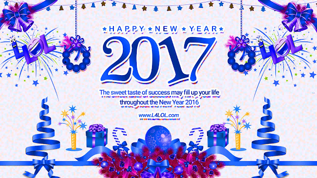 Happy New Year 2017 Animated Greetings Cards