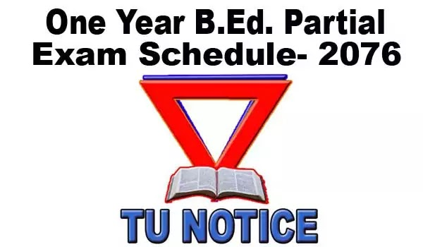 B Ed Exam Schedule