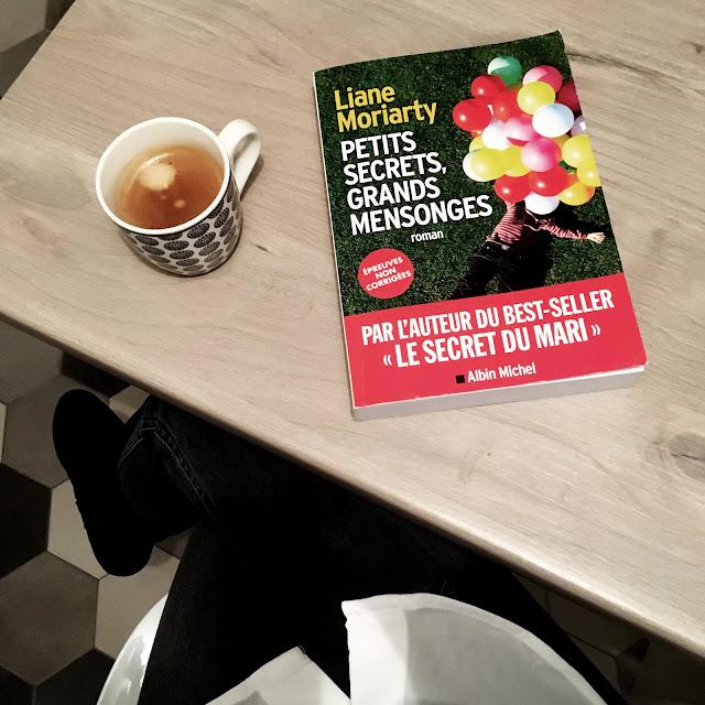 Chronique littéraire Petits secrets grands mensonges par Mally's Books