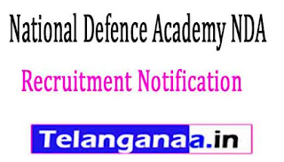 National Defence Academy NDA Pune Recruitment Notification 2017