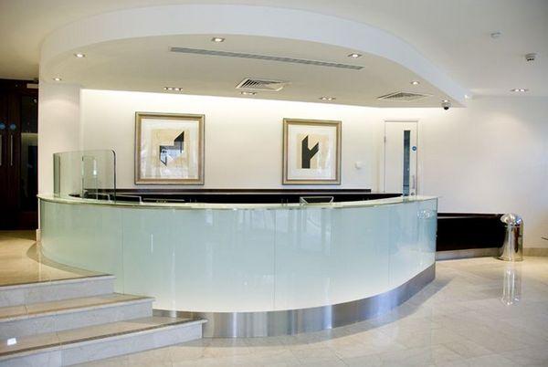 dental office reception counter design