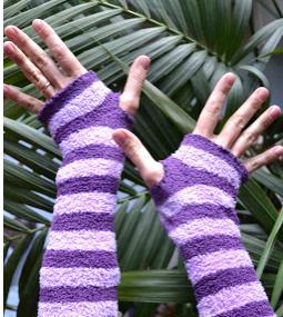 Çoraplardan Parmaksız Eldiven Yapımı