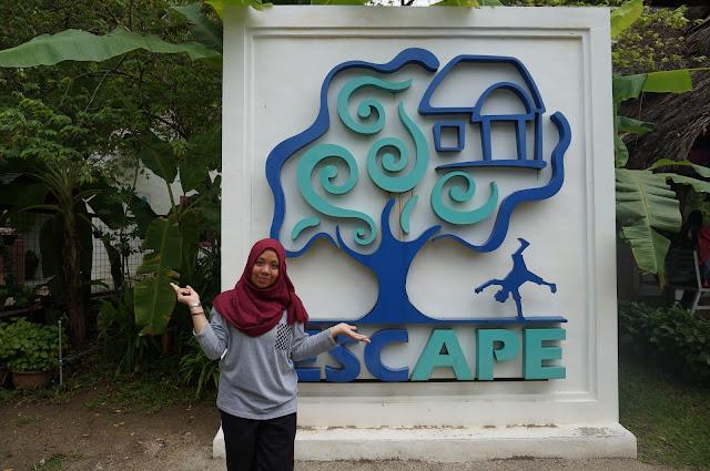 Pengalaman bermain di Escape, Penang! Syokk wei!