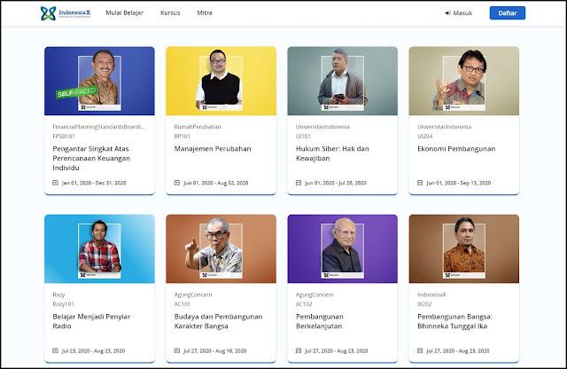 website IndonesiaX