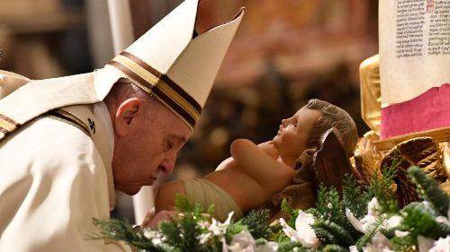 Thánh lễ Đêm Giáng Sinh 24/12/2020 do ĐTC Phanxicô cử hành