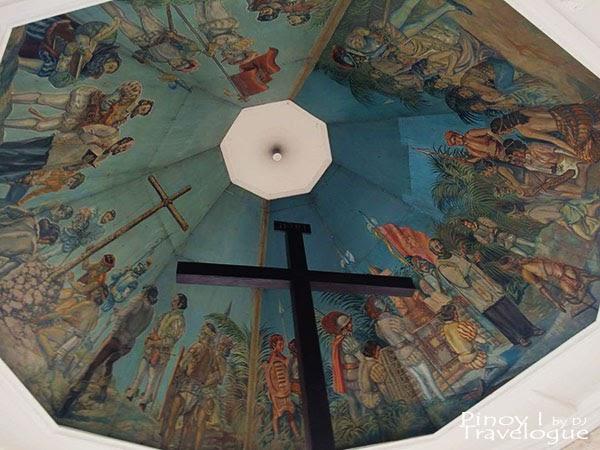 Mural ceiling of Magellan's Cross
