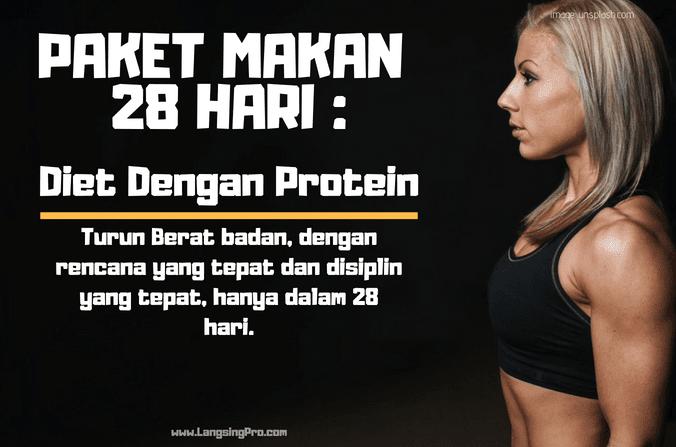 Diet Menurunkan Berat Badan dengan Protein Tinggi