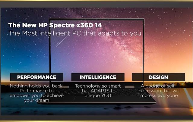 fitur-fitur hp spectre x360 14