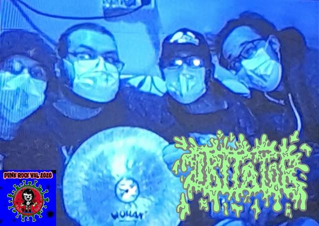 Člani benda Iritator so: IR (Urban) - bobni, IT (Uros) - kitara, AT (Ivan) – vokal in OR (Filip) - bas