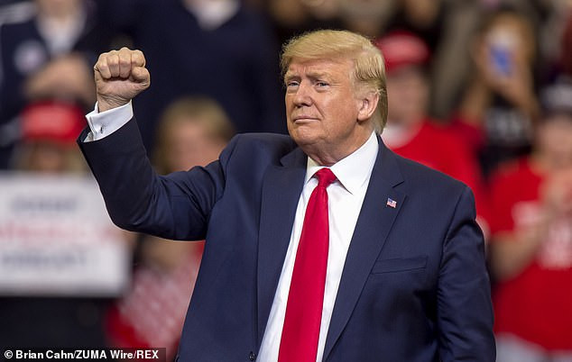 Donald Trump wins the Republican Iowa caucus by 97.1%, showing Republicans are united in their choice for 2020 presidential nominee