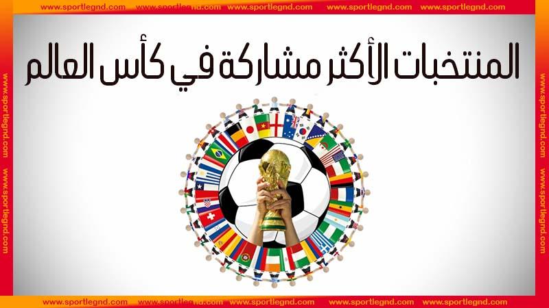 المنتخبات الاكثر مشاركة في كاس العالم,كأس العالم,كاس العالم,كأس العالم 2018,ترتيب المنتخبات العربية الأكثر مشاركة في كأس العالم,أكثر المنتخبات مشاركة في كأس العالم,اللاعب الأكثر مشاركة في كأس العالم,قائمة الأكثر مشاركة في كأس العالم,المنتخبات المشاركة في كاس العالم 2018,تاريخ المنتخبات العربية في كأس العالم,نتائج المنتخبات العربية في كأس العالم,قميص المنتخبات المشاركة في كاس العالم 2018,كاس العالم 2018,مشاركة السعودية في كأس العالم,أكثر اللاعبين مشاركة في نسخ كأس العالم