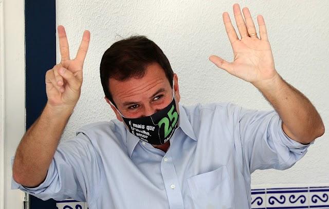 Eduardo Paes, do DEM, é eleito prefeito do Rio de Janeiro